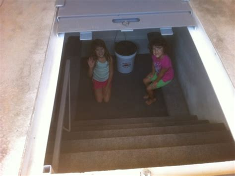 garage floor storm shelters  tested atsa