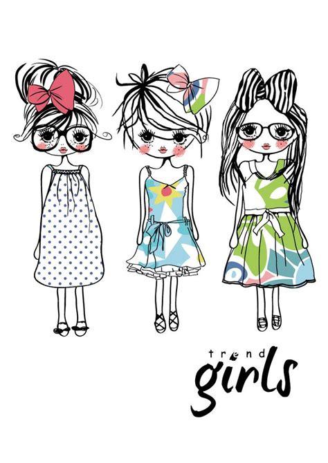 girl illustration   clip art