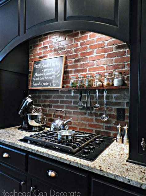 raw  exposed  fantastic diy brick projects   home