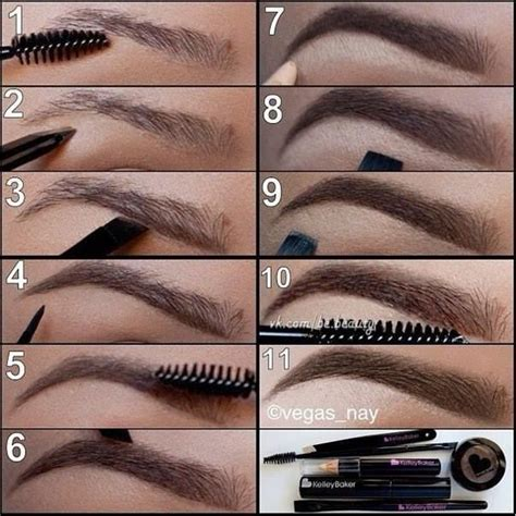 diy thicker sharper eyebrows tutorial pictures   images  facebook tumblr