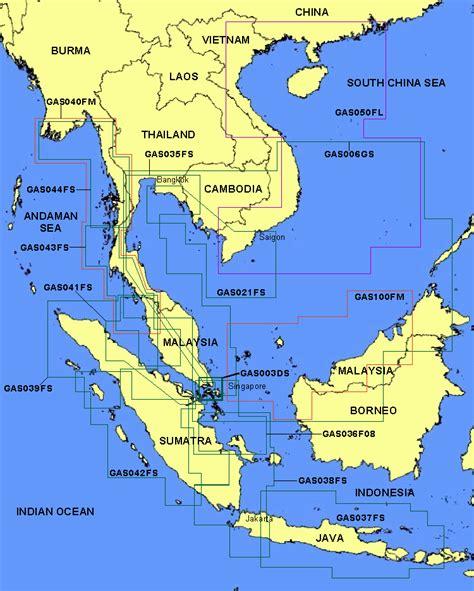 indonesia map thailand