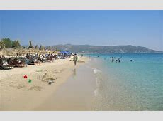 Plaka beach on Naxos Island Greece, beaches, hotels and