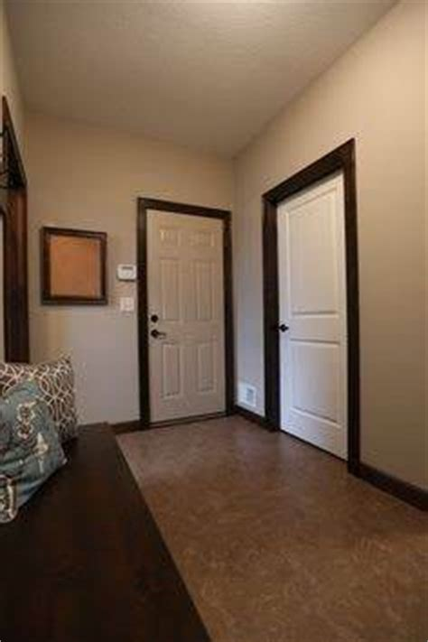 9 garage door if your interior doors are white can you use trim or