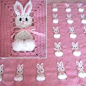 Crochet For Children  Bunny Blanket