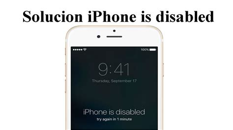 what to do if iphone is disabled solucion olvido contrase 241 a iphone 6 iphone is