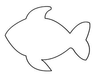 printable fish template best 25 fish template ideas on fish cut outs printable fish and paper fish