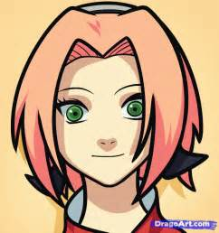 How to Draw Easy Sakura Drawing