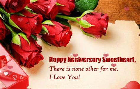 happy anniversary sweetheart    ecards greeting cards