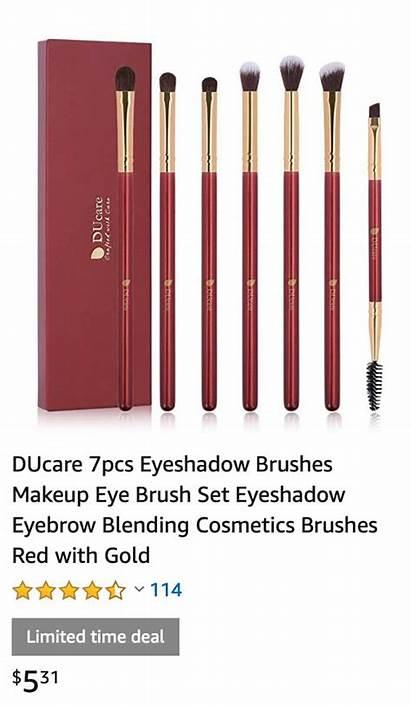 Eyeshadow Brushes Blending Brush Visitar Makeup 7pcs