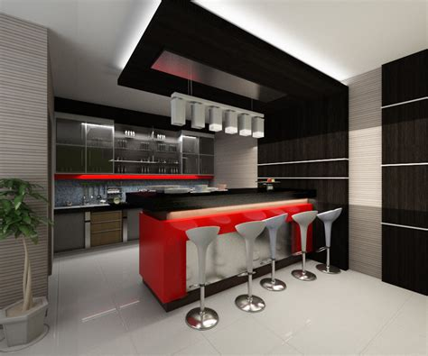 desain mini bar rumah minimalis idaman rumah impian