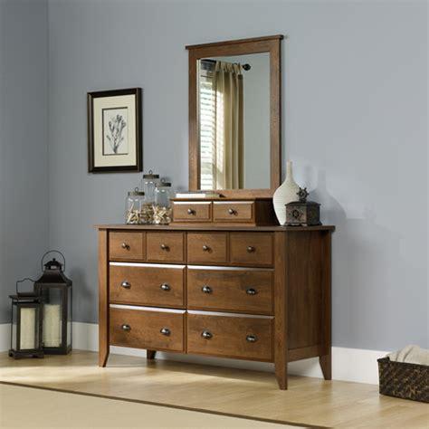 Shoal Creek Dresser Oak by Shoal Creek 6 Drawer Dresser And Mirror Oak