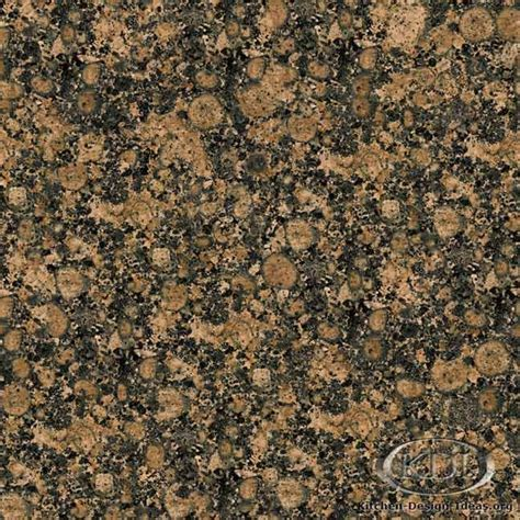 Baltic Brown Granite   I love our kitchen counters in the