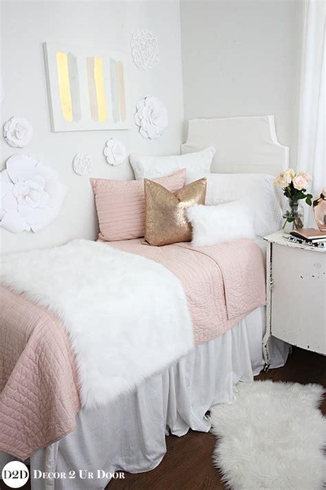 throw pillow inserts blush pink fur gold bedding set