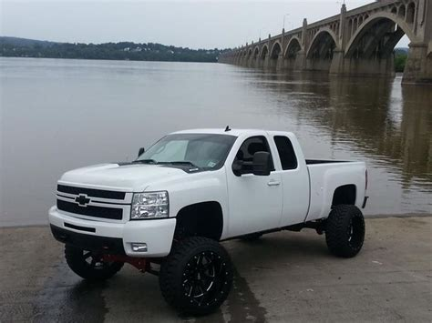 cummins truck white white chevy diesels trucks black lifted dodge ford