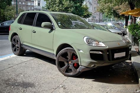 porsche cayenne matte porsche cayenne matte green and mean cars and
