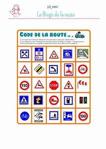 Jeu Code De La Route : bingo de la route imprimer pinterest les panneaux de signalisation panneau de ~ Maxctalentgroup.com Avis de Voitures