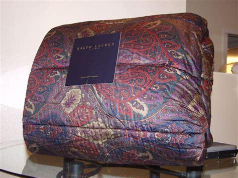 ralph lauren comforter sets king ralph socialite king comforter 4pc set new