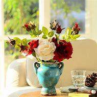 Artificial Flowers Home Decor
