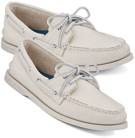 Sperry Topsider Authentic Original Boat Shoe Ice