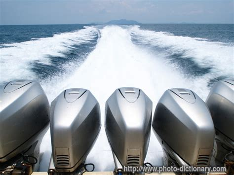 Speed Boat Definition by Speed Boat Engines Photo Picture Definition At Photo