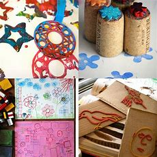 16 Easy Printmaking Projects For Kids Tinkerlab