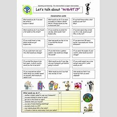 Let´s Talk About ´what If´ Worksheet  Free Esl Printable Worksheets Made By Teachers