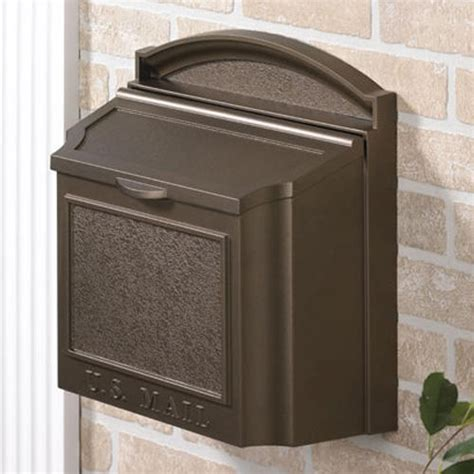 wall mount mailbox standard height to hang a mailbox wall mount home ideas 4612