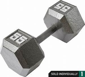 Fitness Gear 10 Lb Cast Hex Dumbbell
