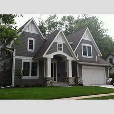 Houses Grey Stucco White Trim Rock  Google Search  Home