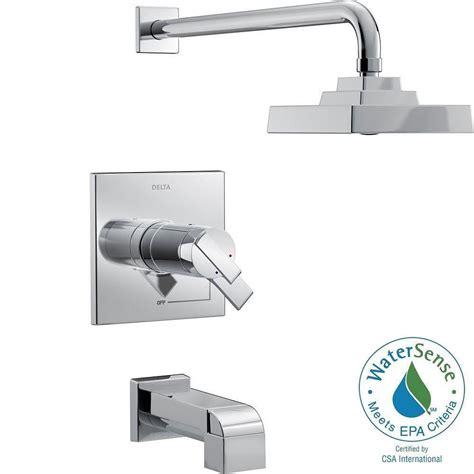 Delta Ara Tub Faucet by Delta Ara Tempassure 17t Series 1 Handle Tub And Shower
