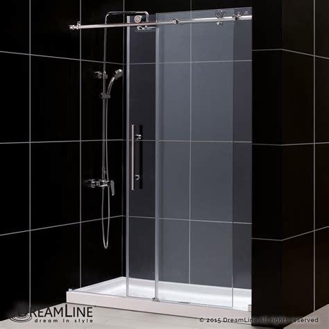 dreamline shower door dreamline showers enigma x sliding shower door