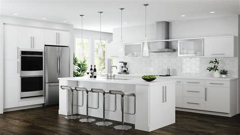 edgeley base cabinets  white kitchen  home depot