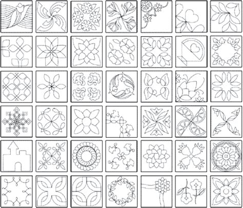 quilting templates 10 quilting designs the quiltmakers collection vol 1 printable quilting stencils