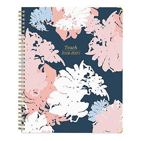 blue sky academic weeklymonthly florinda teacher planner july