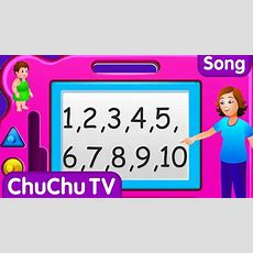 Chuchu Tv Numbers Song  New Short Version  Number Rhymes For Children Youtube