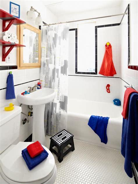 Superheroinspired Boys' Bathroom Diy