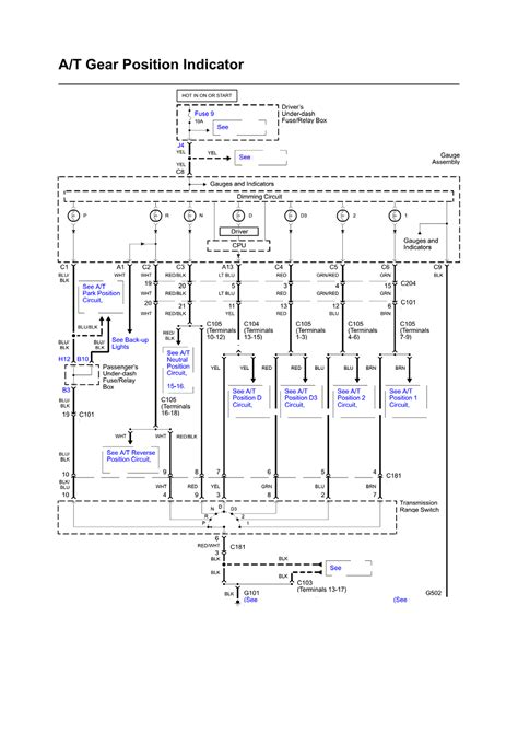 2003 Honda Pilot Radio Wiring Diagram by Repair Guides Wiring Diagrams Wiring Diagrams 1 Of
