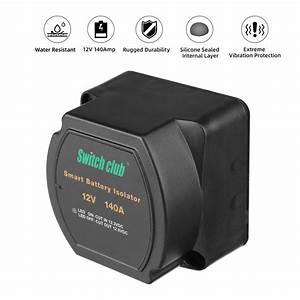 12v 140a Vsr Sensitive Relay Dual Battery Kit Smart
