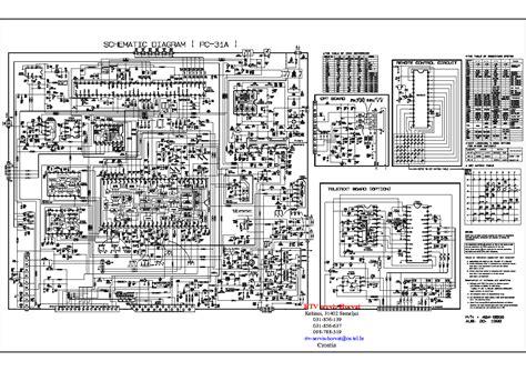 goldstar ck20d10x sch service manual schematics eeprom repair info for electronics