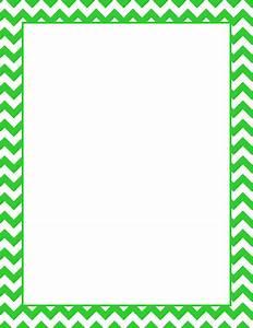 Printable lime green chevron border. Free GIF, JPG, PDF ...