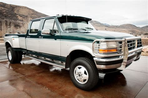 Ford Crew Cab by 1992 Ford F 350 Xlt 4wd Diesel Crew Cab 5 Speed Clean