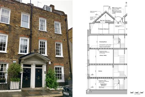Planning Permission To Refurbish Grade Ii Listed 1720s Building In Chelsea Residential