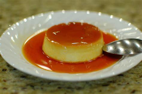 caramel flan flan in a can recipe dishmaps