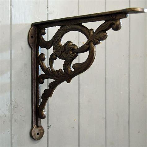 shelf brackets serpent decorative cast metal wall shelf bracket shelf