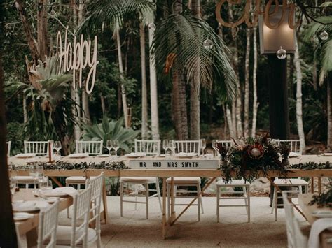 island glade mt tamborine wedding venue cedar