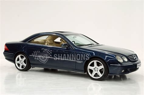They also come in coupe and convertible form, outfitted with. Sold: Mercedes-Benz CL600 V12 Coupe Auctions - Lot 58 - Shannons