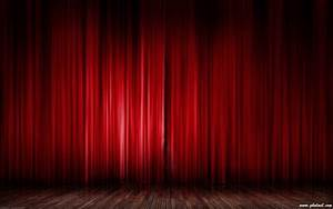red curtain wallpaper wallpapersafari With theatre curtains wallpaper