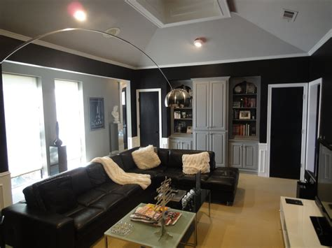 modern ideas for living rooms breathtaking black sectional sofa decorating ideas