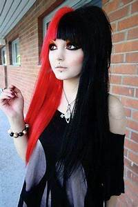 Red And Black Hairstyles The Latest Color Trend That We