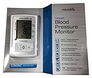 Amazon.com: Microlife BP3GX1-5X Deluxe Arm Blood Pressure